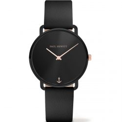 Paul Hewitt - Montre Mermaid cuir noir (ph-m-b-bs-32s)
