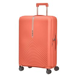 Samsonite - Valise rigide taille moyenne extensible 4 roues 55cm 73/81 litres Hi-Fi (132801)