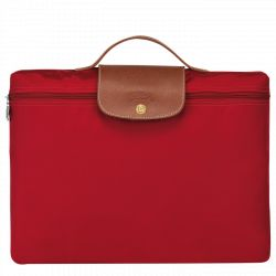 Longchamp - Porte-documents S Le Pliage Original femme A4 en toile et cuir (l2182)